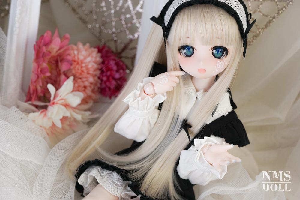 【Y!オク】6月1日終了*DDH01SWさんネイルハンド(白バラ)